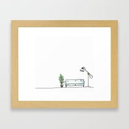 Grown Up Apartment Framed Art Print
