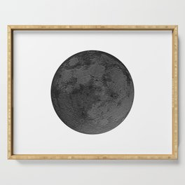 BLACK MOON Serving Tray