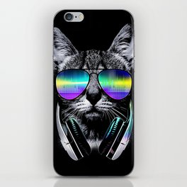Dj Cat iPhone Skin