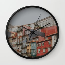 Charming Colours Wall Clock