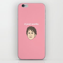 Todd Howard It Just Works iPhone Skin