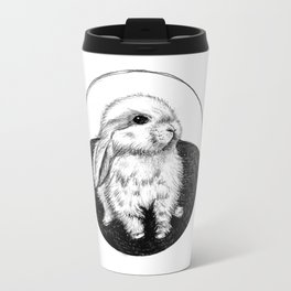 Bunny #3 Metal Travel Mug