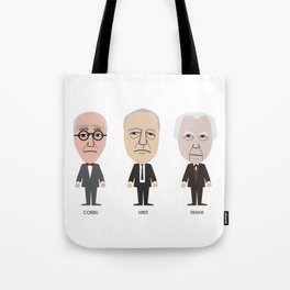 The Godfathers of Modern Architecture Tote Bag