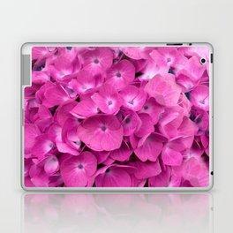 Artful Pink Hydrangeas Floral Design Laptop & iPad Skin
