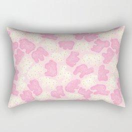 Frosted Animal Cookies Rectangular Pillow