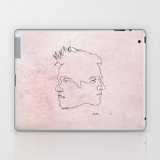 One line Fight Club Laptop & iPad Skin