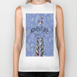 Adventure Awaits - Bagaceous Biker Tank