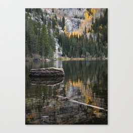 The Silence of Nature Canvas Print