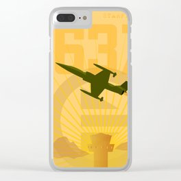 Starfighter 637 Clear iPhone Case
