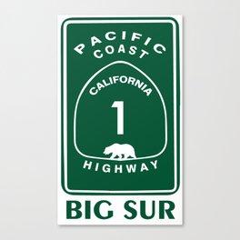 Big Sur. Canvas Print