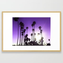 California mood Framed Art Print
