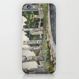 Emily Carr - Skedans  - Canada, Canadian Oil Painting - Group of Seven iPhone Case