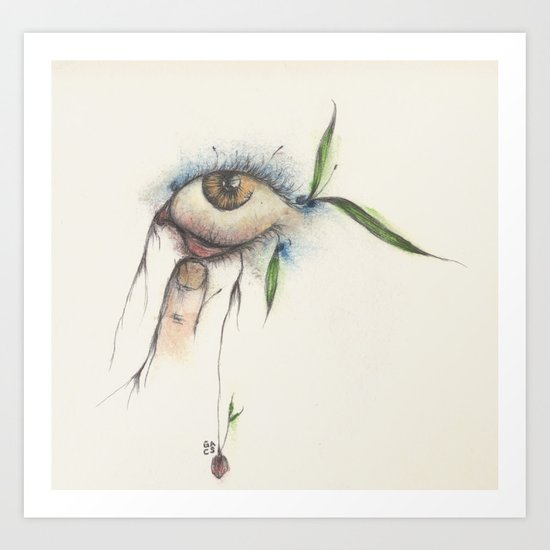 I wanna see You more clearly... Art Print