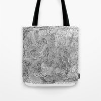 milky way Tote Bags featuring Milky Way by Hendry Lim