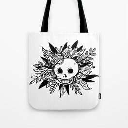 The Mexican Skull - Graphic Print Tote Bag
