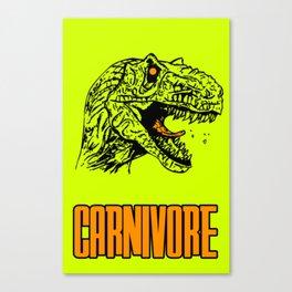 Carnivore Canvas Print