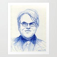 Philip Seymour Hoffman Art Print