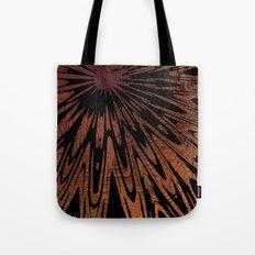 Native Tapestry in Burnt Umber Tote Bag