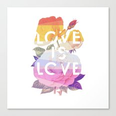 Love is Love Canvas Print