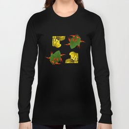 Tropical Squares Long Sleeve T-shirt