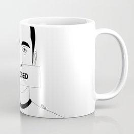 Closed in my silence Coffee Mug