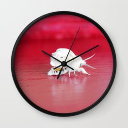 Fall Webworm Moth Wall Clock
