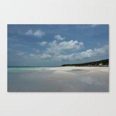 Island beauty Canvas Print