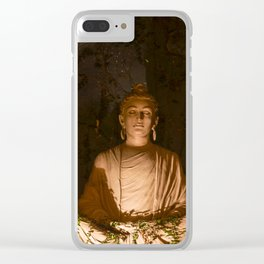Buddha in Meditation in Rishikesh Clear iPhone Case