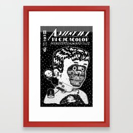adventures in cucacolor Framed Art Print