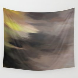 Abstract Touch of Colors. Like Painted on Canvas. Wall Tapestry