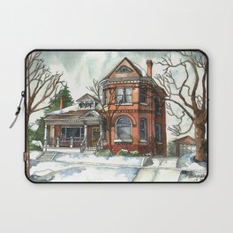 Victorian House in The Avenues Laptop Sleeve