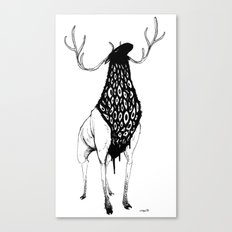 Here Come the Bad Feelings Canvas Print