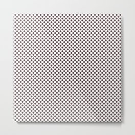 Huckleberry Polka Dots Metal Print