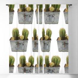 Twin Cactus Blackout Curtain