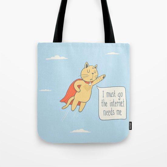 Internet Cat Tote Bag