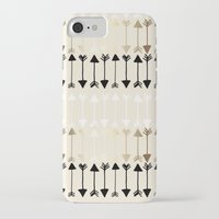 arrows iPhone & iPod Cases featuring Arrows by Tangerine-Tane