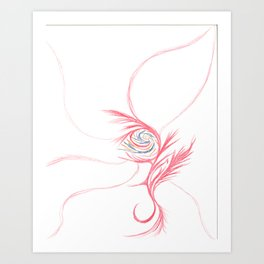 Sea Breeze Creature Art Print