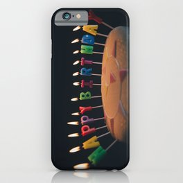 happy birthday 4 iPhone Case