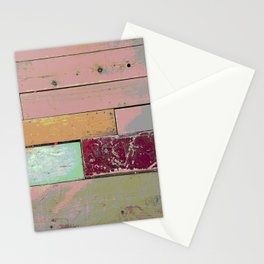 New Spin on an Old Floor Stationery Cards