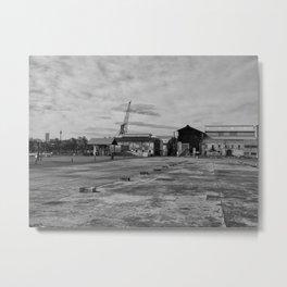 Urban Island Exploration Metal Print