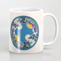 mandala Mugs featuring Mandala by Abundance