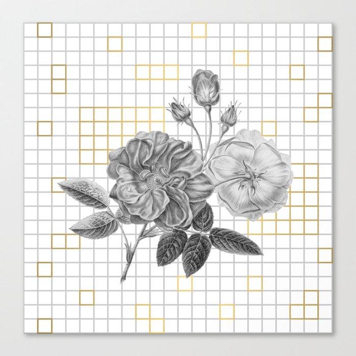 Floral #1 Canvas Print