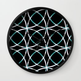 Intersecting Rings Fractal in TPGY Wall Clock