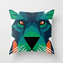 Aurora Lion Throw Pillow