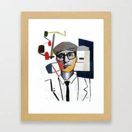 John Rawls (Rational Equilibrium) Framed Art Print