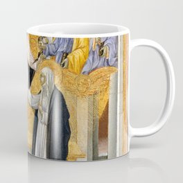 Giovanni di Paolo - The Mystic Marriage of Saint Catherine of Siena Coffee Mug