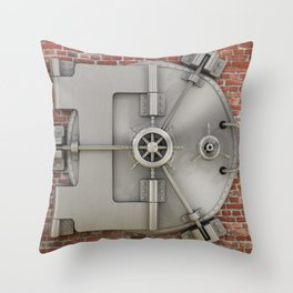 Vault Throw Pillow