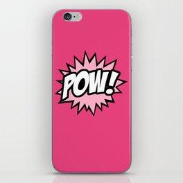 POW iPhone Skin