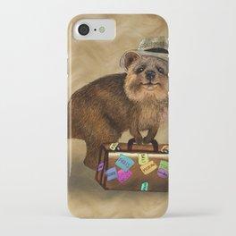 Traveller // quokka iPhone Case