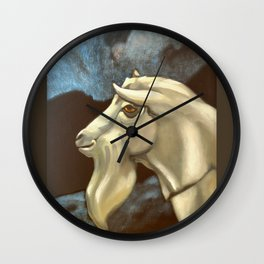 Night of The Billy Goat Wall Clock